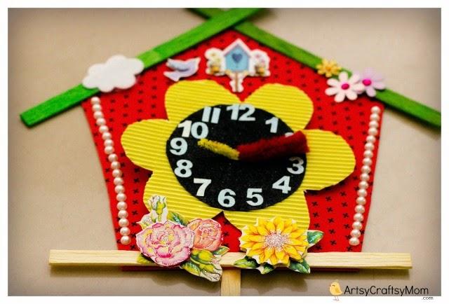 DIY Clock for kids – guest post by ArtsyCraftsyMom