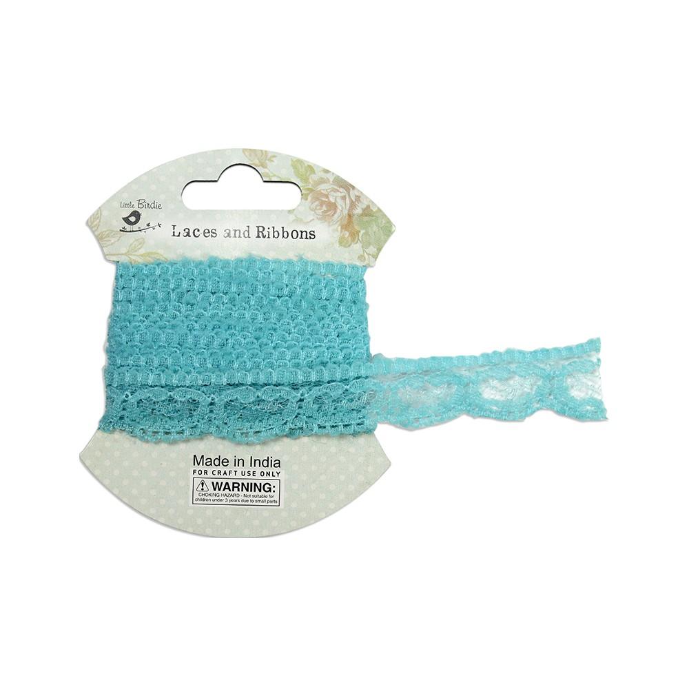 Crochet Lace - Blue