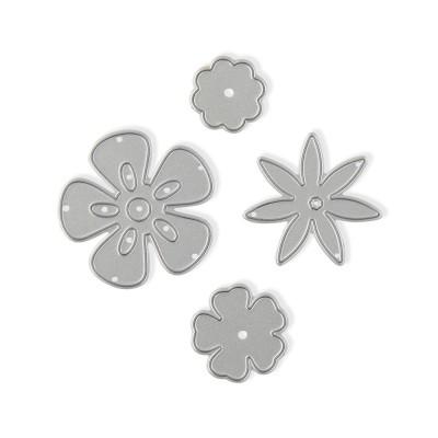 Thin Cut Die - Fairy Flowers